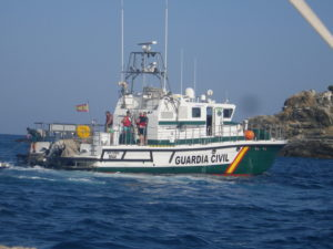 Guardia Civil boat