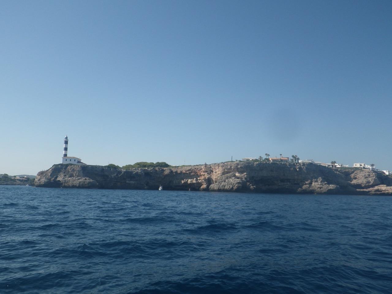 Porto colom approach