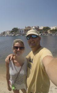 selfie in porto colom