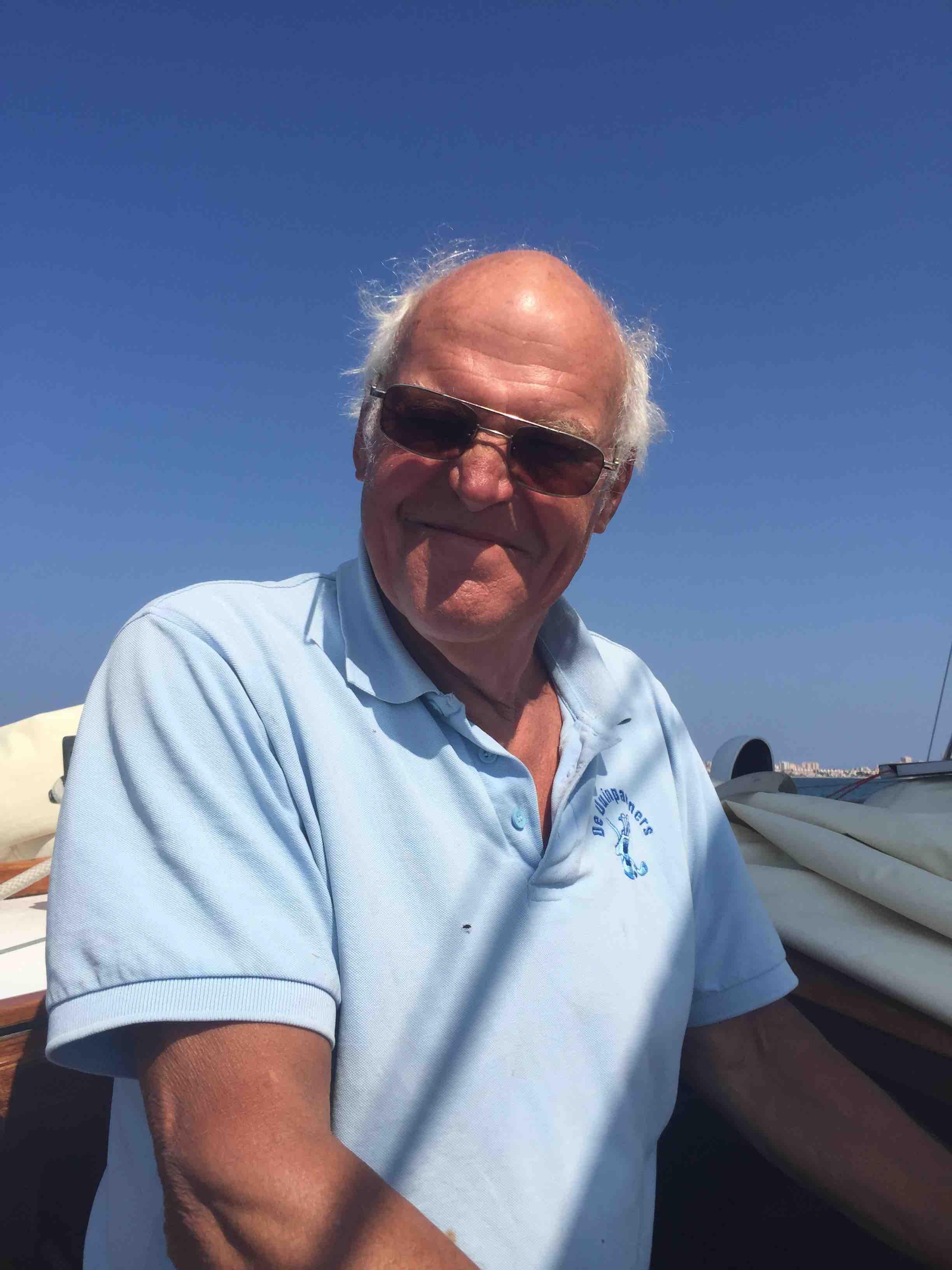 De kapitein: Wouter