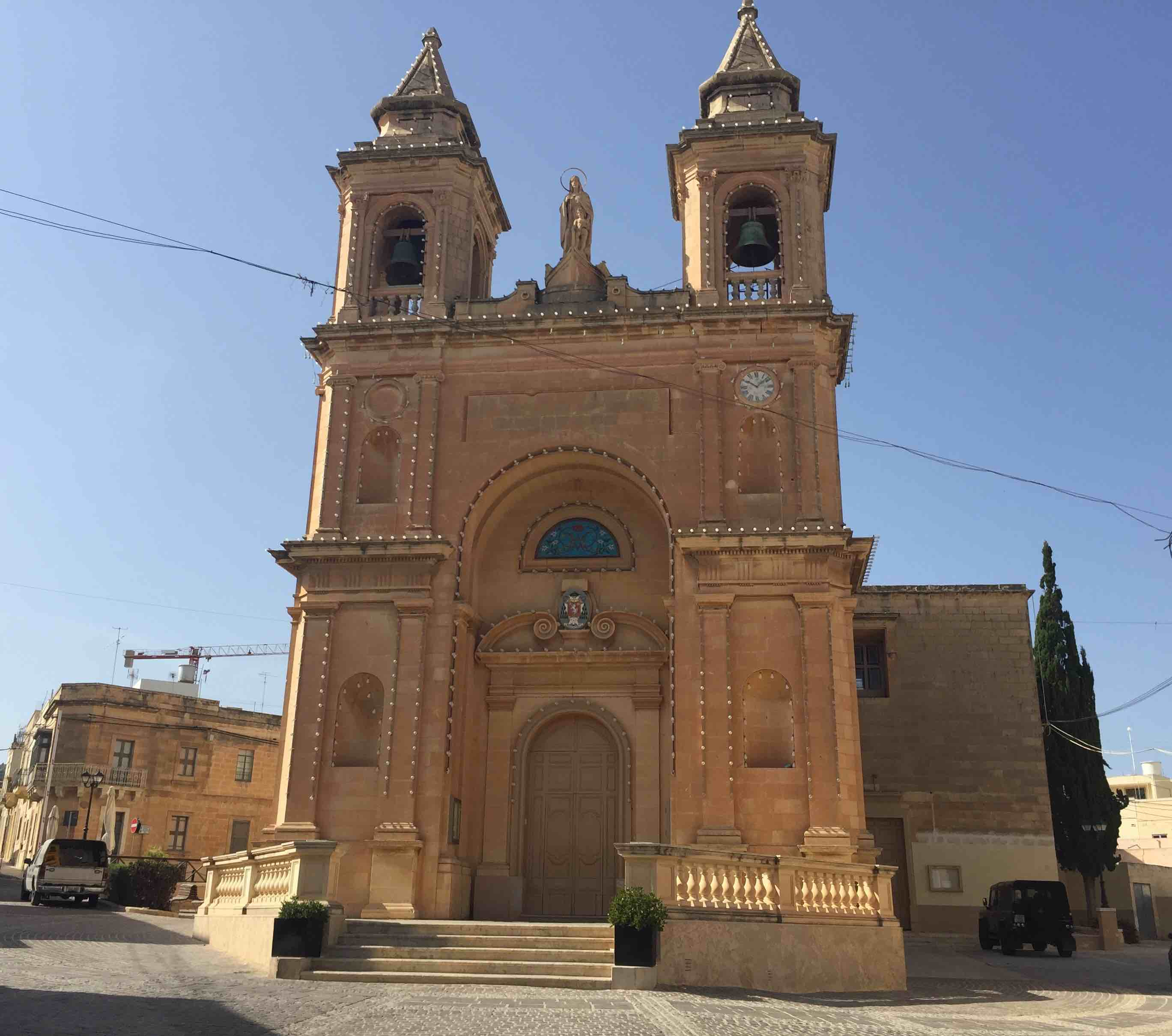 Marsaxlokk - church