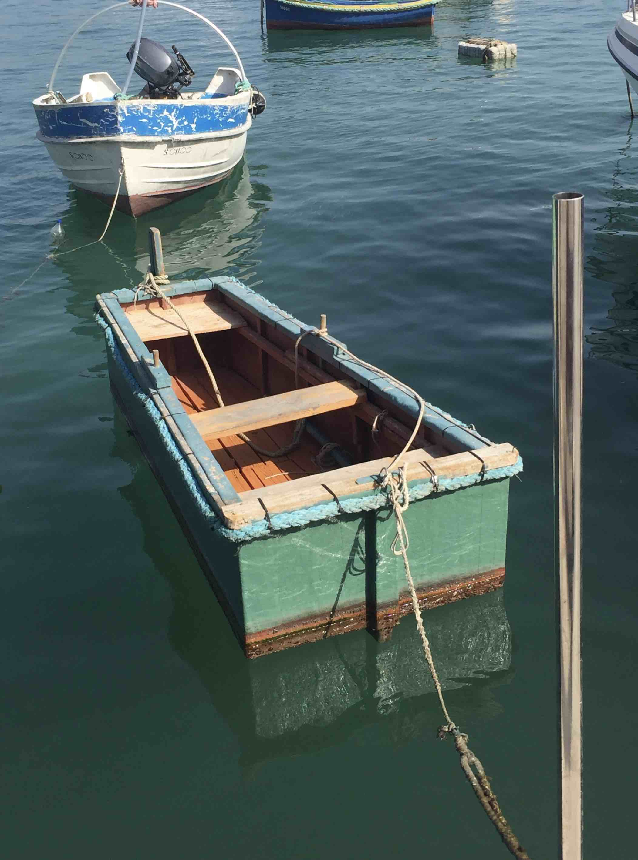 Marsaxlokk - square boat