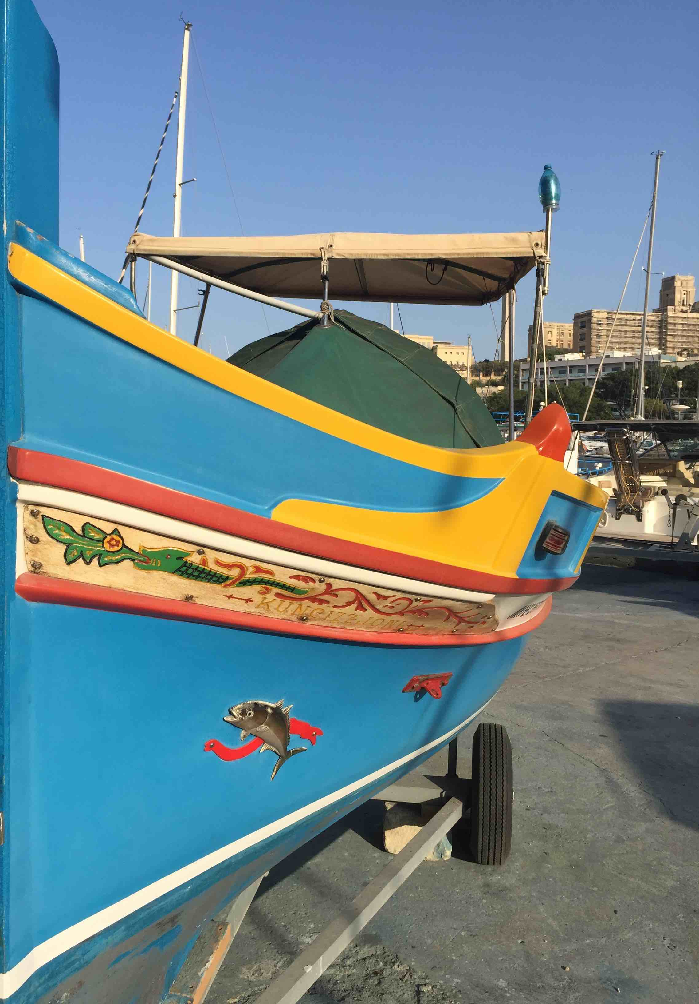 Valletta - fishing boat