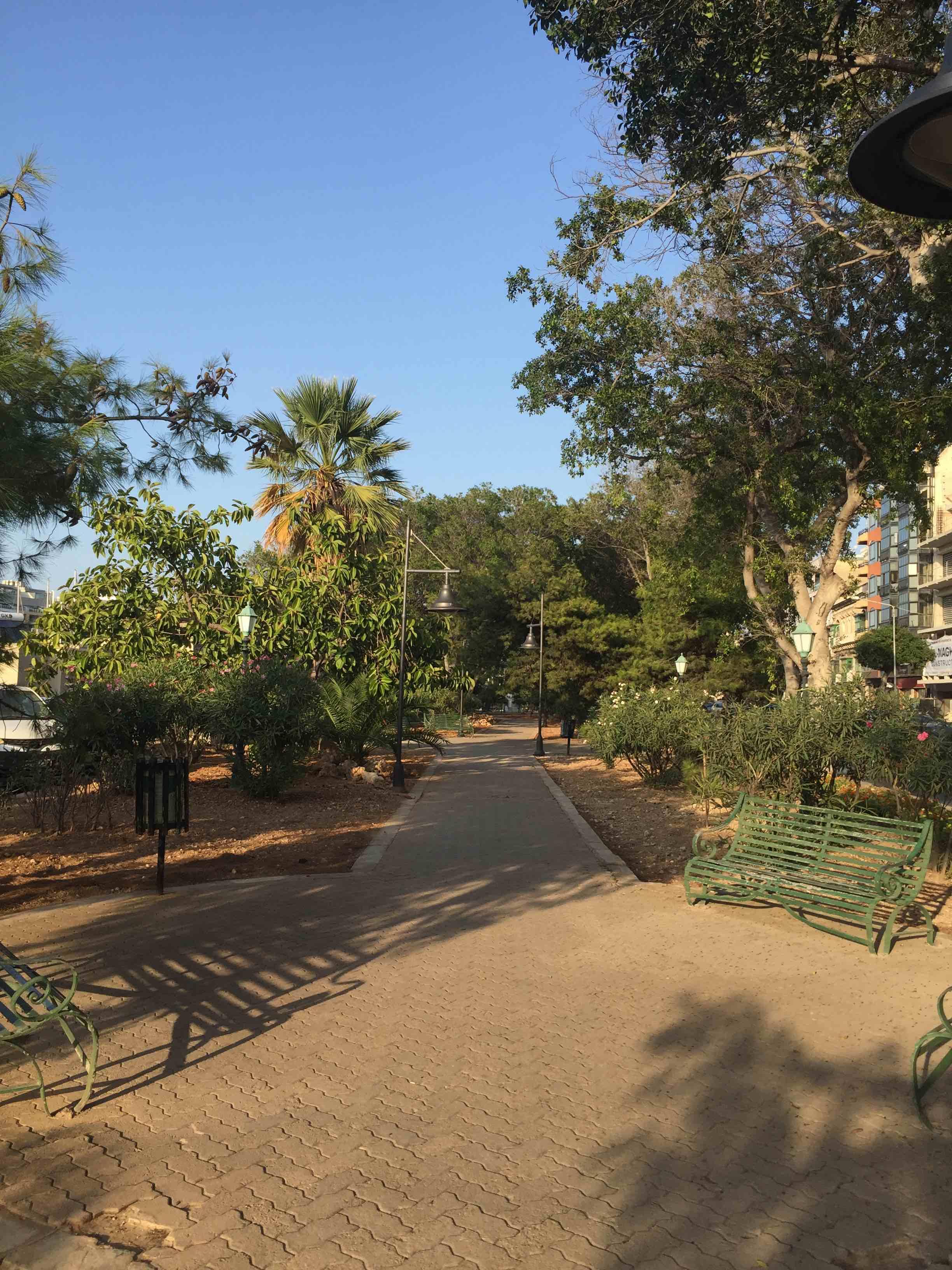 Valletta - park