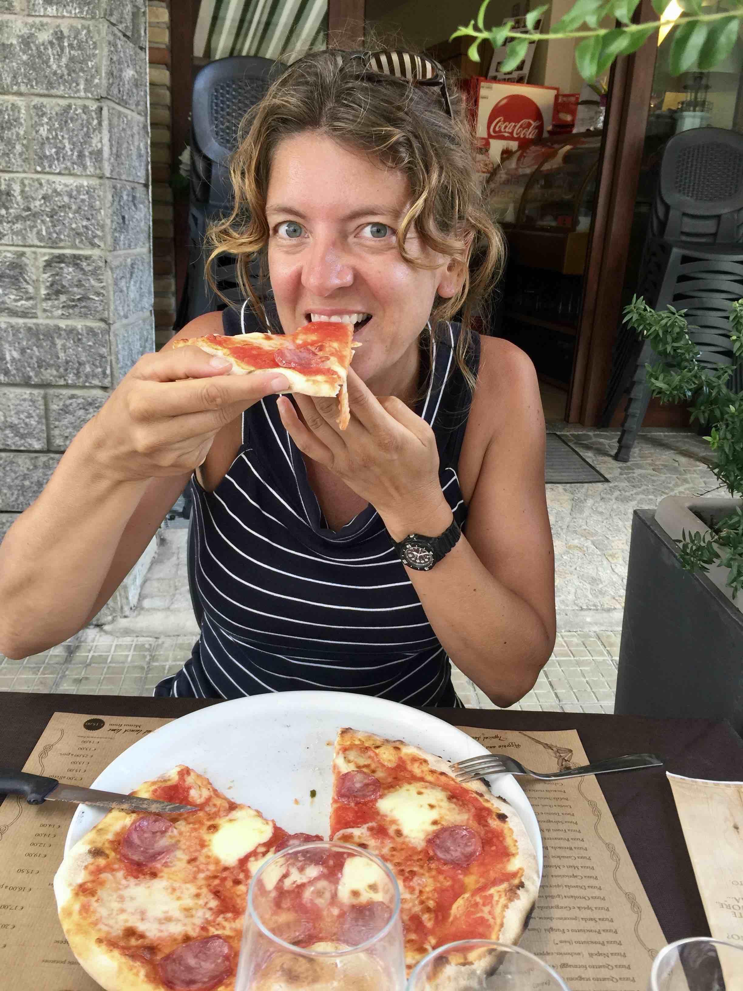 Villasimius - pizza