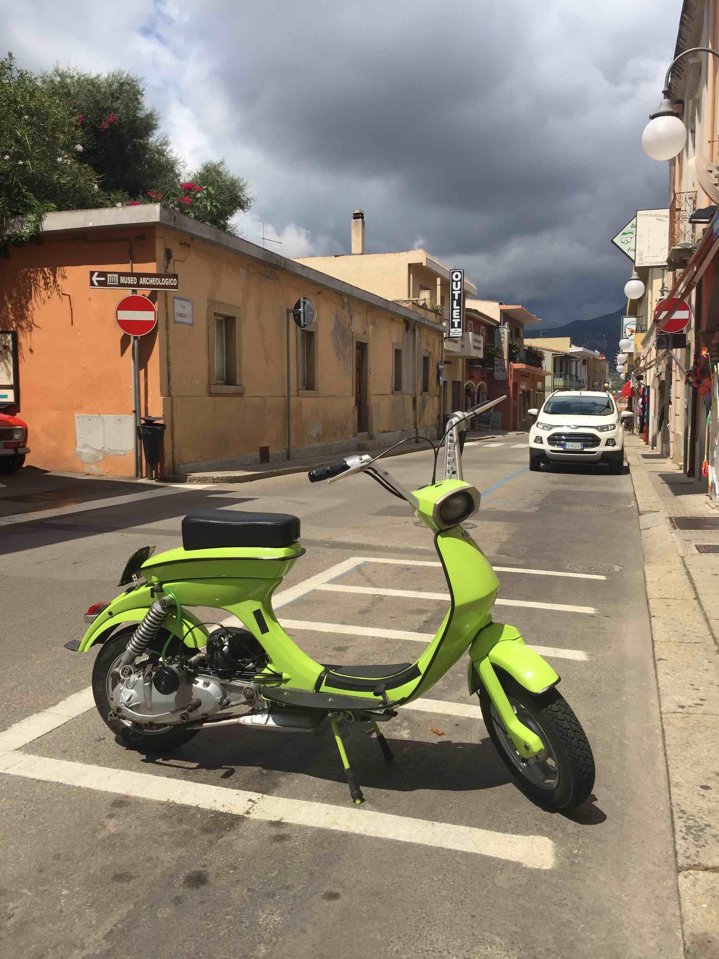 Villasimius - scooter